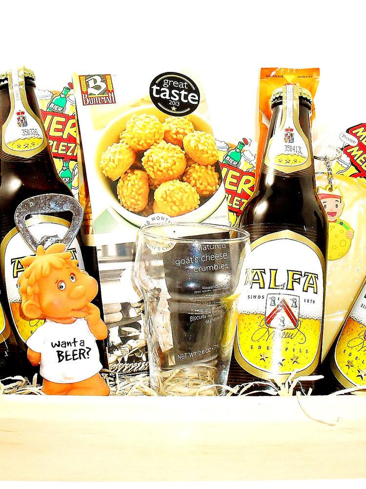 Biercadeau Alfa Dienblad Luxe