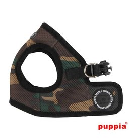 Puppia Puppia Soft Vest Harness model B camo