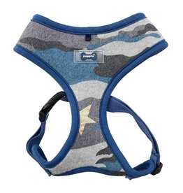 Puppia Puppia Ensign Harness Model A Blue Camo