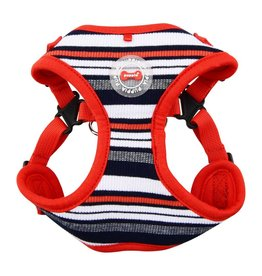 Puppia Puppia Oceane Harness Model C Red ( ALLEEN LARGE)