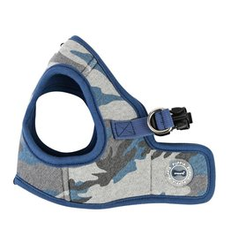 Puppia Puppia Ensign Harness Model B Blue Camo