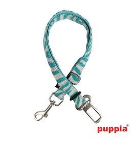 Puppia Puppia Autogordel Modern Zebra Aqua