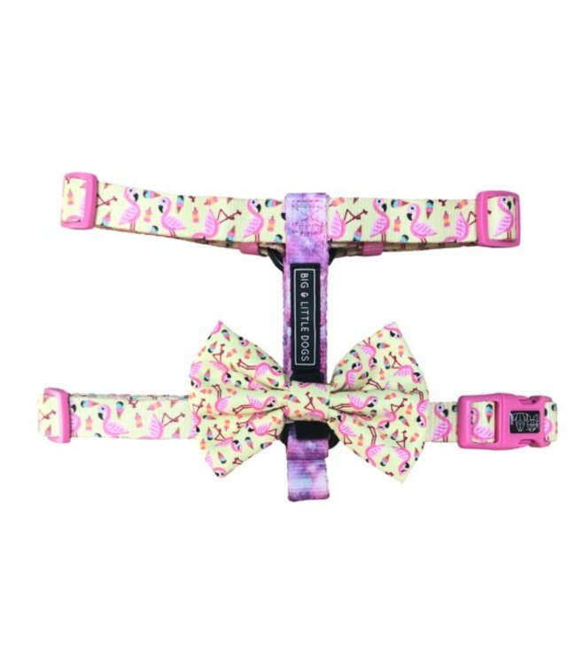 Big and Little Dogs Big and Little Dogs Strap Harness Let's Flamingle