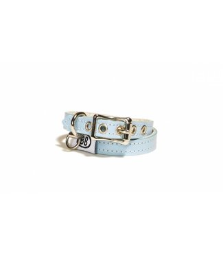 Buddy Belts Buddy Belt Halsband Leer Blue