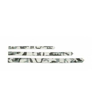 Buddy Belts Multi Collar White Camo Luxury Style Strap