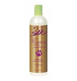 Petsilk Pet Silk Brazilian Keratin Creme Conditioner