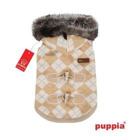 Puppia Puppia Argyle Mode hondenjasje beige