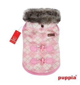 Puppia Puppia Argyle Mode hondenjasje roze