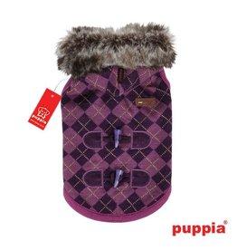 Puppia Puppia Argyle Mode hondenjasje paars