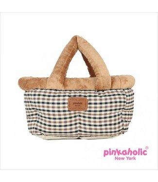 Pinkaholic Pinkaholic Victorian draagtas/autostoel Beige