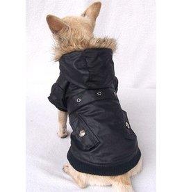 Waxcoat winterjasje zwart