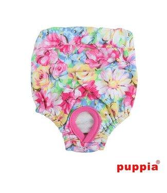 Puppia Puppia Loopsheidbroekje Spring Garden Pink (  alleen small)
