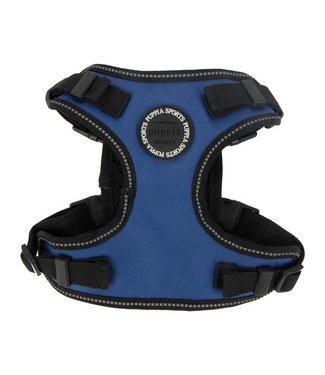 Puppia Puppia Trek Harness model F Royal Blue