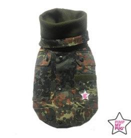 Pimp My Pug Military Coat