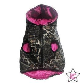 Pimp My Pug Spotted Jacket Met Roze Binnenkant