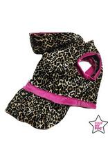 Pimp My Pug Leopard Jurk Roze
