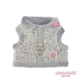 Pinkaholic Pinkaholic Muffy Pinka Harness grey (alleen small)