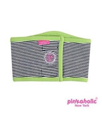 Pinkaholic Pinkaholic Harper Manner Band Green