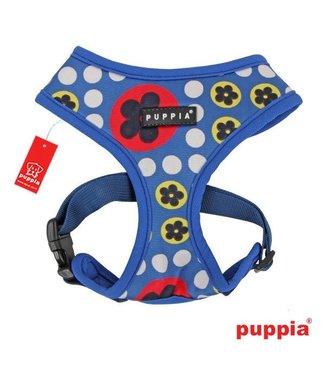 Puppia Puppia Blossom Harness model A Royal Blue