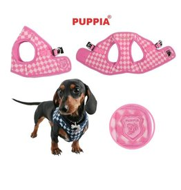 Puppia Puppia Argyle Harness model B pink ( Alleen XXL)