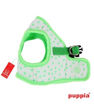 Puppia Puppia Cosmic Harness model B fluo-green (alleen nog Large)