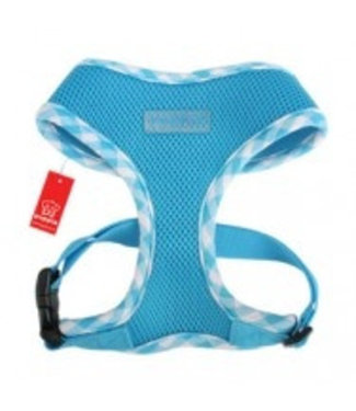 Puppia Puppia Pacific Soft Harness model A blue (Alleen Large)