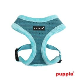 Puppia Puppia Yuppie Harness model A aqua (alleen nog Small)