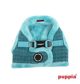 Puppia Puppia Yuppie Harness model B aqua (alleen large)
