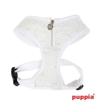 Puppia Puppia Spring Gala Harness model A white  (Alleen large)