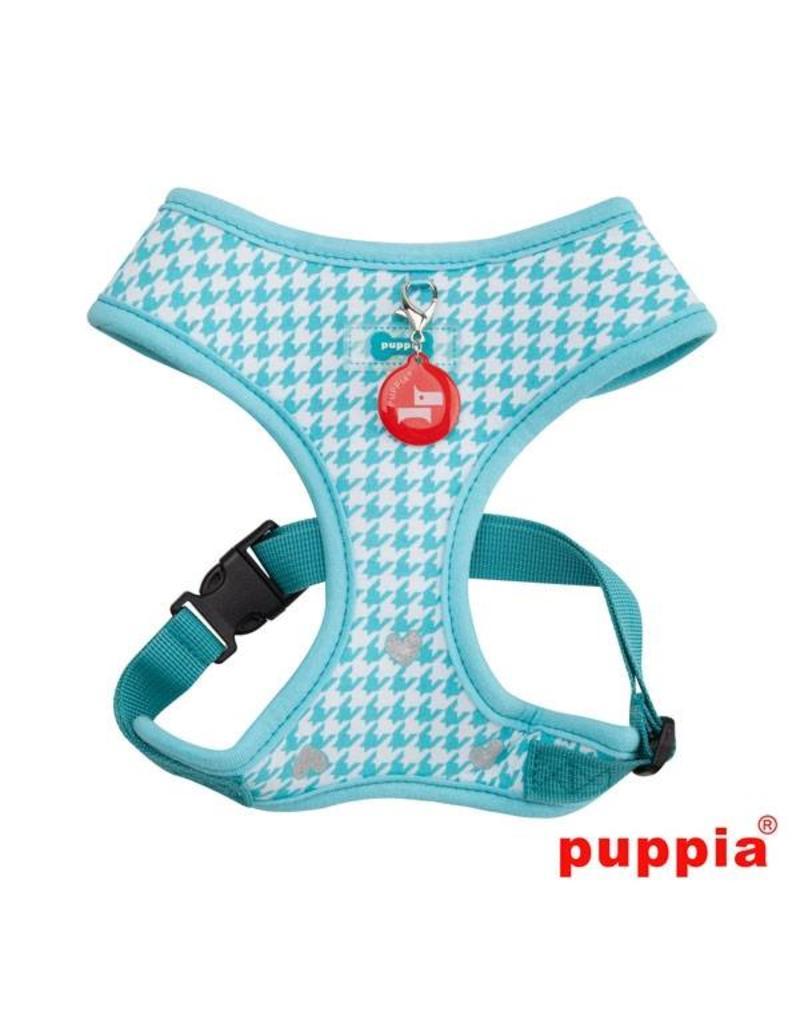 Puppia Puppia Aggie Harness model A aqua