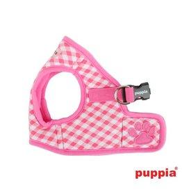 Puppia Puppia Lattice Harness model B pink