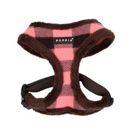 Puppia Puppia Waffle Harness model A brown
