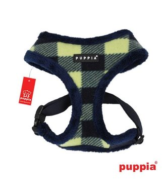 Puppia Puppia Waffle Harness model A navy (ALLEEN LARGE)