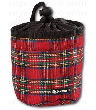 Doxtasy/Animal Gear Doxtasy Training Bag Tartan Red