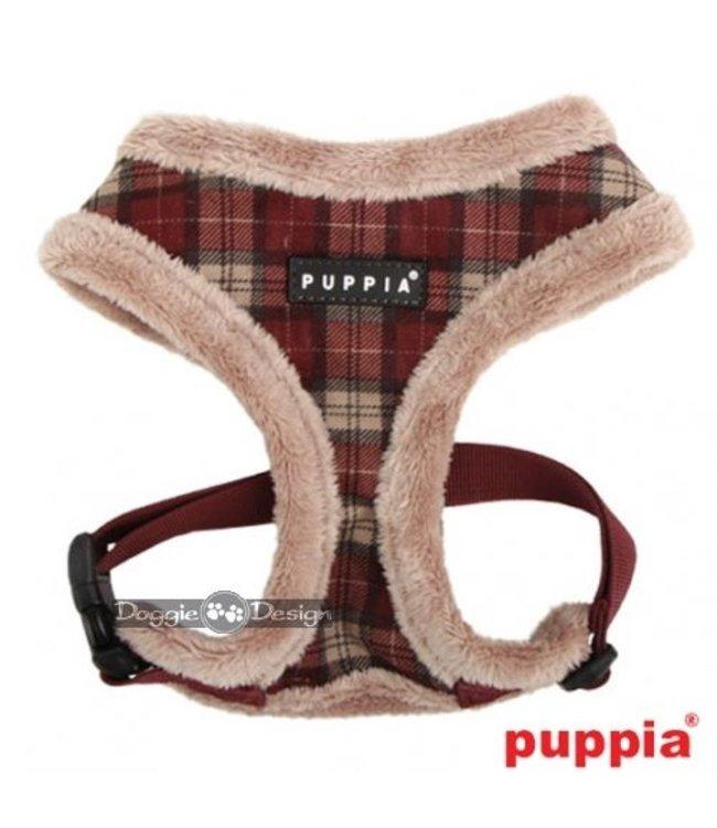 Puppia Puppia Barron Harness model A wine ( ALLEEN SMALL)