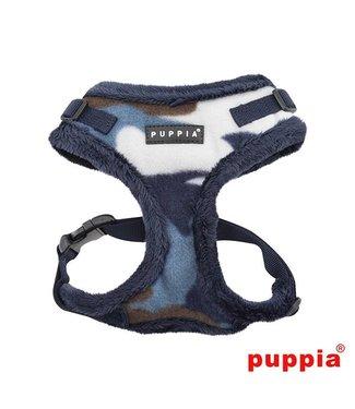 Puppia Puppia Corporal Harness model A Ritefit Blue