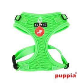 Puppia Puppia Neon Soft Harness Ritefit II Green