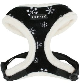 Puppia Puppia Snowflake Harness model A black