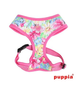 Puppia Puppia Spring Garden Harness model A pink