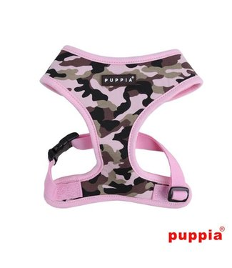 Puppia Puppia Legend Harness model A Pink Camo