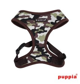 Puppia Puppia Legend Harness model A Brown Camo
