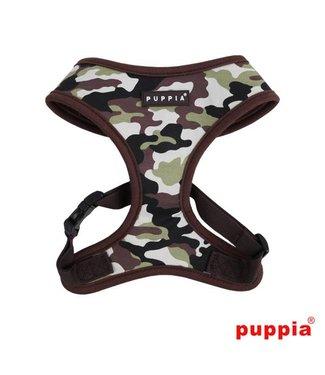 Puppia Puppia Legend Harness model A Brown Camo
