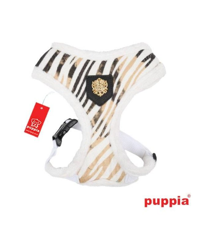 Puppia Puppia Polar Harnass model A white