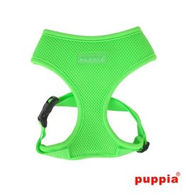 Puppia Puppia Neon Soft harness Model A Green