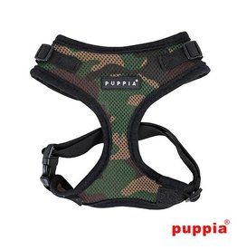 Puppia Puppia Soft Harness Ritefit Camo