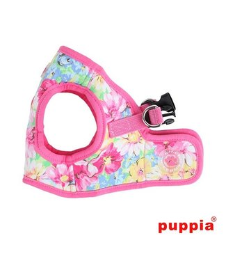 Puppia Puppia Spring Garden Harness model B pink