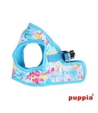 Puppia Puppia Spring Garden Harness model B skyblue