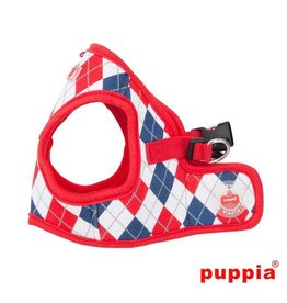 Puppia Puppia Argyle Harness model B Red