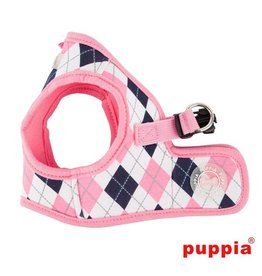 Puppia Puppia Argyle Harness model B Pink (alleen s)