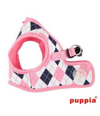 Puppia Puppia Argyle Harness model B Pink